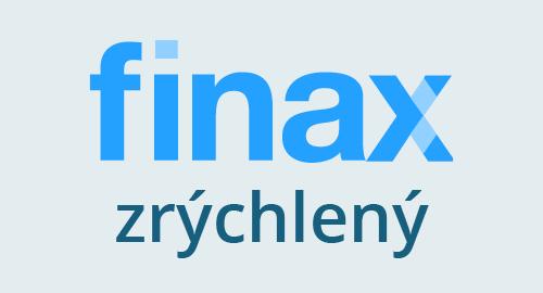 Banner Finax zrýchleny